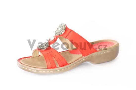 Obrázek z ARA pantofle KORSIKA papaya