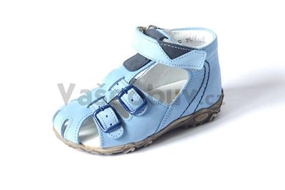 Obrázek Sázavan dětské sandálky sv. modrá