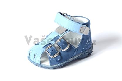 Obrázek Sázavan dětské sandálky modré