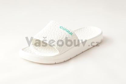 Obrázek Coqui Rune 5072 white pantofle