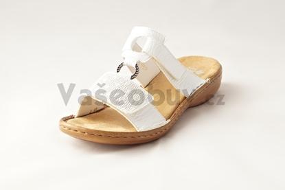 Obrázek Rieker 60885-80 weiss dámská obuv