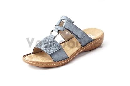Obrázek Rieker 60885-12 Blue pantofle