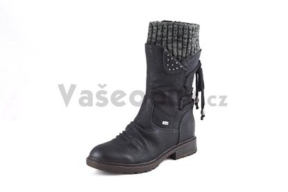 Obrázek Rieker 94773-00 black dámská obuv